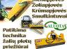 Traktoriai, Raideriai, šienapjovės, žoliapjovės, krūmapjovės, vejapjovės, augalų smulkintuvai ir kt (8)