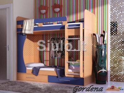 Vaikų kambario baldai. Baldų dizainas, projektavimas ir gamyba