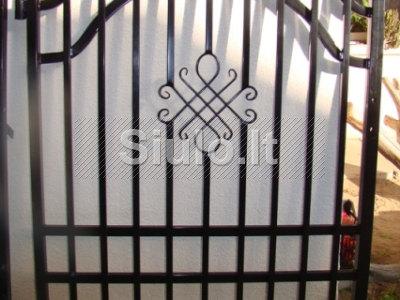Metaliniai kiemo vartai