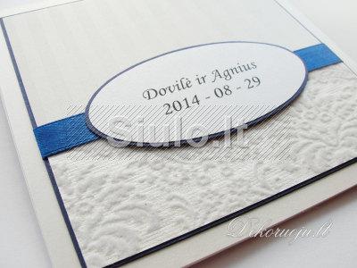 Rankų darbo vestuviniai kvietimai, stalo kortelės