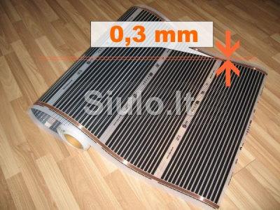 Grindų šildymo plėvelė, energoplėvelė - 14, 50EUR m2