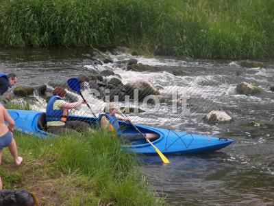 Baidares Dubysos upe, Raseiniu rajone