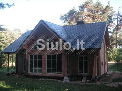 Stogų dengimas, karkasinių namų statyba