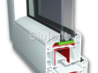 Plastikiniu, aliuminiu langu reguliavimas, remontas