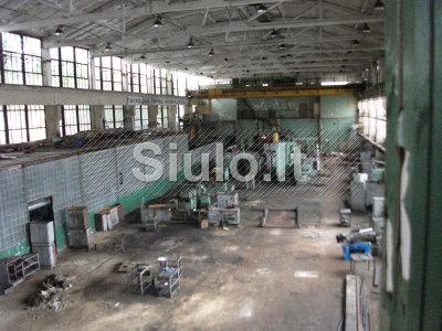 2000 kv. m. gamybos sandėliavimo patalpų nuoma centre