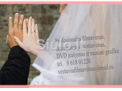 VESTUVIŲ FILMAVIMAS, Blu - ray DVD