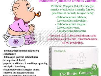 VAIKAMS - žarnyno mikrofloros sutrikimas, disbakteriozės