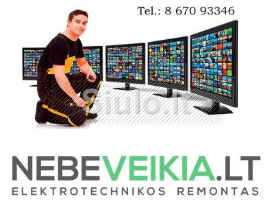 Televizoriu Remontas Klaipėda - atvykstame