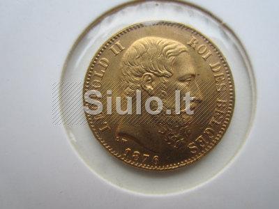 Auksines monetos parduoda