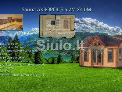 Parduodu medines pirtys Lietuvoje