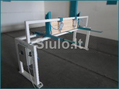 20 - 11 - 512 Lovajuosčių testavimo įrenginys 2 cilindrų WOODLAND MACHINERY