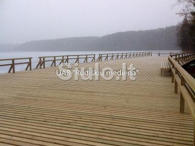 Impregnuota statybinė mediena iki 9, 0m ilgio