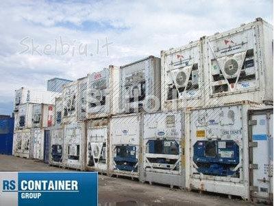 Šaldytuvai - jūriniai konteineriai