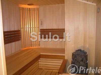 Pirčių įrengimas - pirtys, saunos, garinės