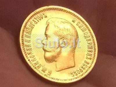Brangiai perku Carinės Rusijos Auksines monetas. Tel. 8 605 45548