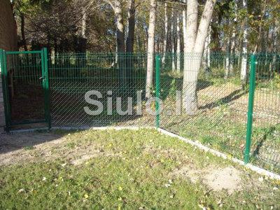 Kokybiška segmentinė tvora. Montavimas