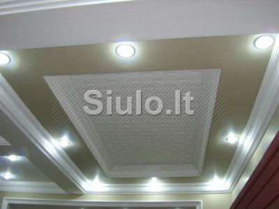 Išskirtinis dizainas luboms, sienoms