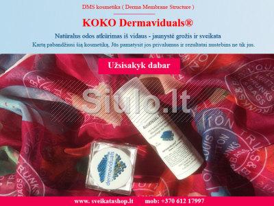 Dermatologinė kosmetika - KOKO Dermaviduals, Voketija