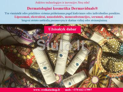 Dermatologinė kosmetika Dermaviduals - PIGIAU nei kitur