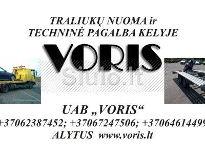 TRALIUKU NUOMA 37062387452 37067247506 37064614499 ALYTUS www. voris. lt VORIS