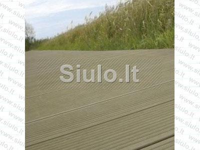 Medžio plastiko gaminiai - terasinės lentos
