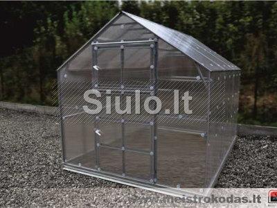 Dvišlaitis namelio formos šiltnamis KLASIKA HOUSE