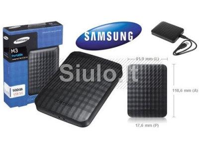 HDD Išorinis SEAGATE SAMSUNG P3 Portable 2. 5, 500GB, USB 3. 0