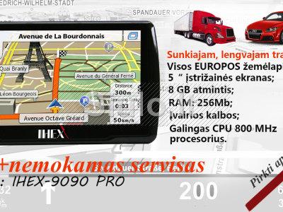 GALINGA GPS Navigacija IHEX TRUCK AUTO
