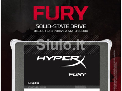 Kingston 120GB HyperX FURY SSD SATA 3 2. 5