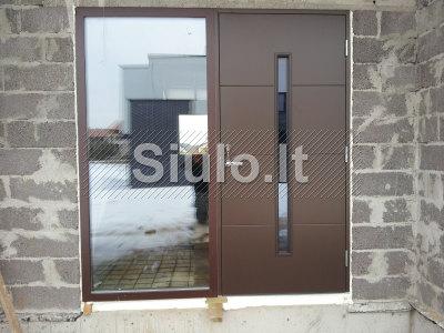Sarvuotos, metalines durys, garazo vartai