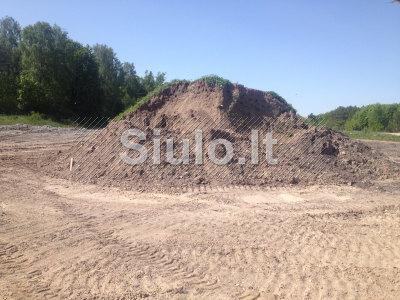 Parduodamas juodžemis, smėlis, žvyras, skalda