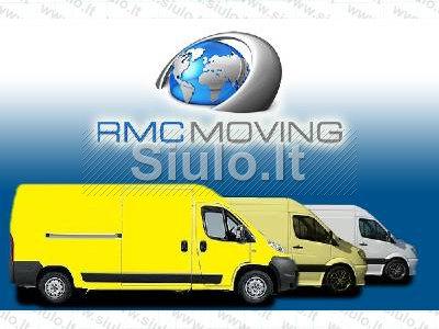 Krovinių pervežimas, perkraustymas RMC MOVING