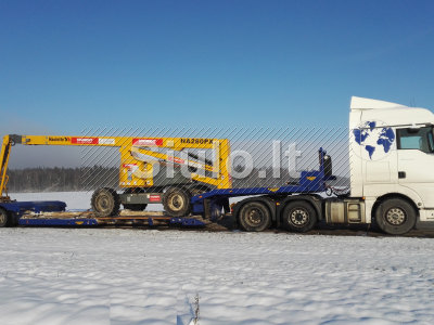 Negabaritinių krovinių ir technikos transportavimas, pervežimas