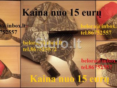 Medžiotojo - varovo kepurė Vilniuje nuo 9 eurųVilniuje nuo 15 eurų