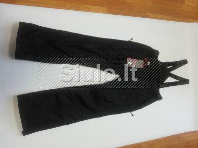 Juodos moteriškos slidininko kelnės