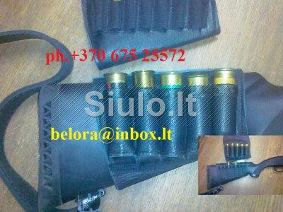 Šovininė ant šautuvo buožės nuo 8 euro