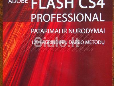 Parduodu knygas Flash CS4, Flash 5