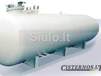 Antžeminės požeminės dujų cisternos