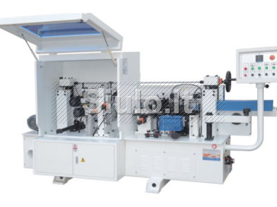 20 - 09 - Pusiau automatinės kraštų užklijavimo staklės WOODLAND MACHINERY FZ - 230 naujos