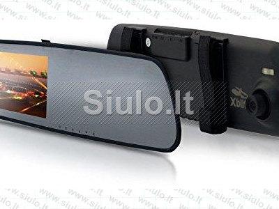 XBLITZ Mirror 2016 video registratorius