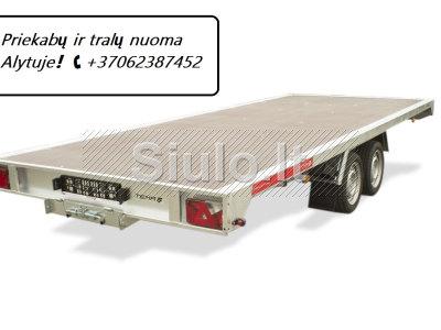 TRALIUKO PLATFORMOS PRIEKABOS NUOMA ALYTUS 37062387452 www. tralunuoma. lt