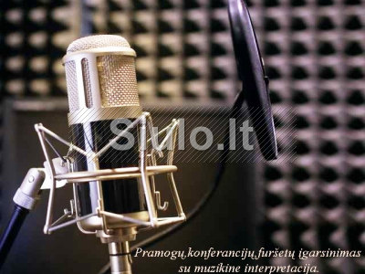 Fonogramos, vokalo įrašymas