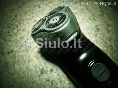 Philips HQ6640 el barzdaskutė