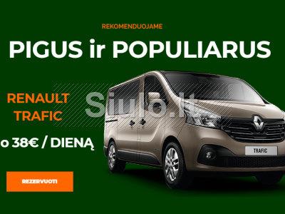 Mikroautobusų nuoma Kaune