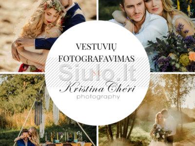 Kristina Cheri Photography - profesionalus vestuvių fotografavimas