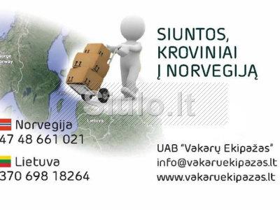 Vežame keleivius Lietuva - Norvegija - Lietuva