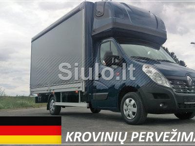 Transporto Paslaugos Meno kūriniams gabenti Lietuva VOKIETIJA