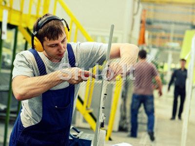 Šaltkalvis - montuotojas Vokietijoje