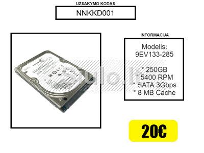Naudotas nešiojamo komiuterio kietasis diskas HHD